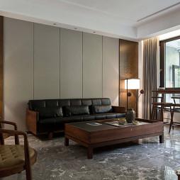 中式别墅客厅设计