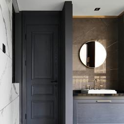 复古现代卫浴洗手台设计