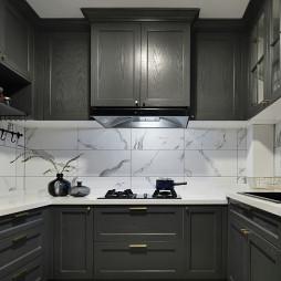 复古现代厨房设计图