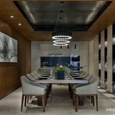 R FANTASIA花漾锦江样板房餐厅设计