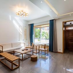 馨和园中式别墅客厅设计