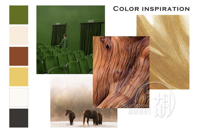 176平方简欧风格-彩色墙的多元运用