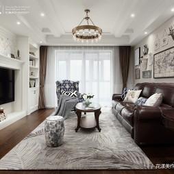 静谧美式客厅吊灯设计