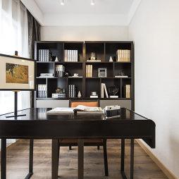 125㎡样板间书房设计