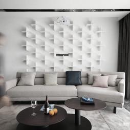 舒适现代客厅设计