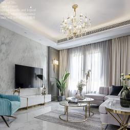 浪漫现代别墅客厅设计