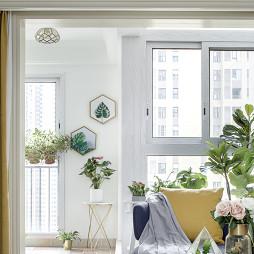 美式三居阳台设计