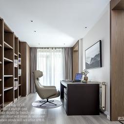 现代复式书房设计