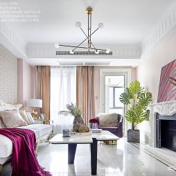 法式优雅客厅吊灯设计