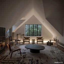 现代别墅客厅设计实景