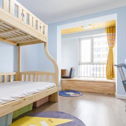 70平米北欧儿童房设计