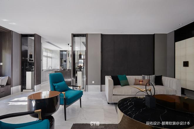 优雅中式客厅设计实景