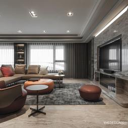 新古典豪宅客廳設計
