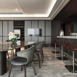 新古典豪宅餐厅设计