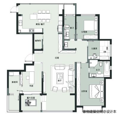 White Space—象物建筑空间设计_3439437