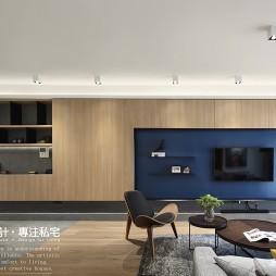 时尚现代风三居客厅实景
