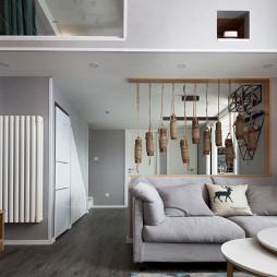 小复式日式客厅设计