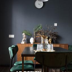 纯色现代餐厅设计图