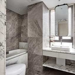 现代法式卫浴设计
