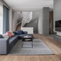 北欧别墅客厅设计