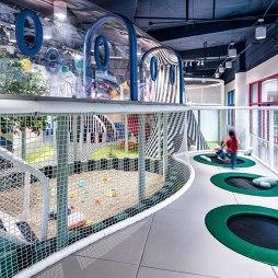 """""""梦境中的乐园""""幼儿园游乐区设计图"""