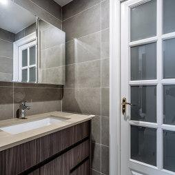 北欧风格三居卫浴设计
