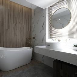 混搭风展示空间洗手台设计