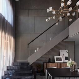 时尚个性现代楼梯设计