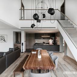静谧现代别墅餐厅设计