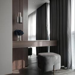 纯净现代卧室梳妆台设计