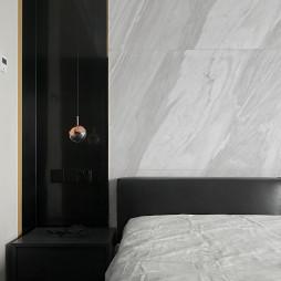 纯净现代卧室吊灯设计