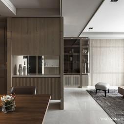 新古典豪宅餐厅隔断设计