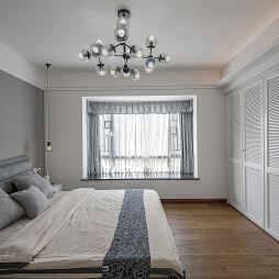 中式豪宅主卧设计