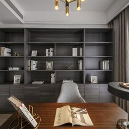 半岛城邦现代书柜设计