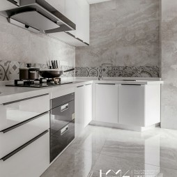 画意现代厨房设计