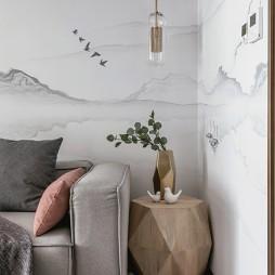 画意现代客厅吊灯设计