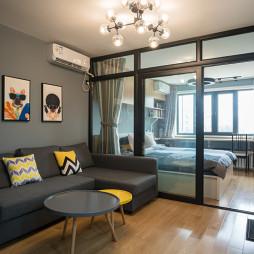 7度公寓简约客厅设计