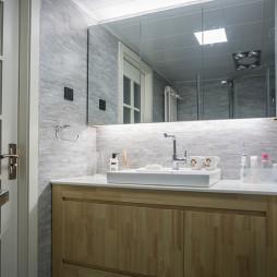 7度公寓简约洗手台设计