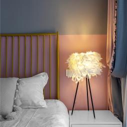 复古混搭女儿房床头灯设计
