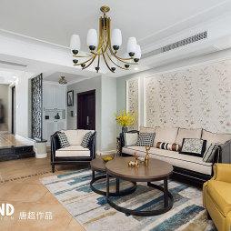 168㎡美式客厅吊灯设计