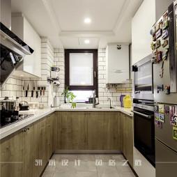 美式二居厨房设计