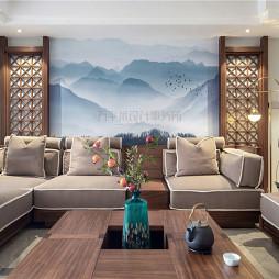 经典中式客厅沙发设计