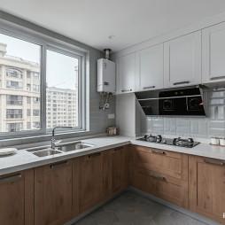淡雅北欧二居厨房设计