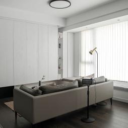 黑白现代客厅设计
