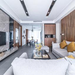 东南亚风格客厅沙发设计