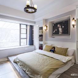 美式乡村卧室设计