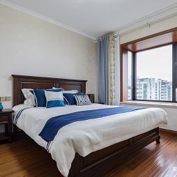 新中式优雅卧室设计图