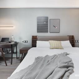 102㎡现代北欧卧室设计图