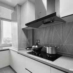 102㎡现代北欧厨房设计