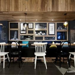 DOUBLE COFFEE咖啡厅卡座设计